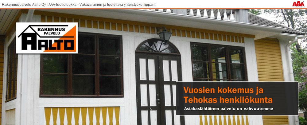 Rakennuspalvelu Aalto
